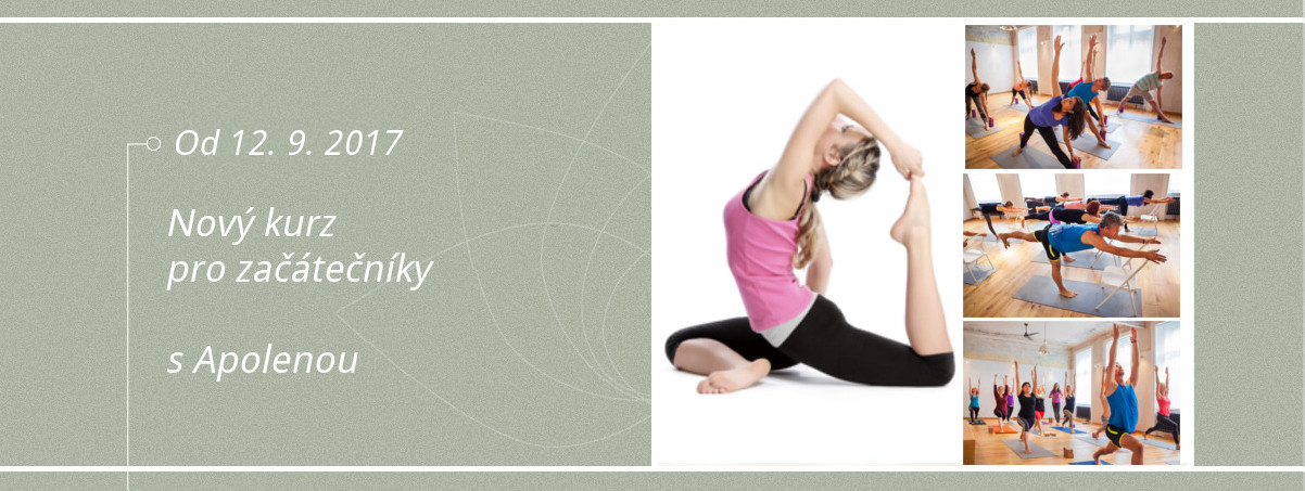 Kurz Iyengar jogy pro zacatecniky s Apolenou