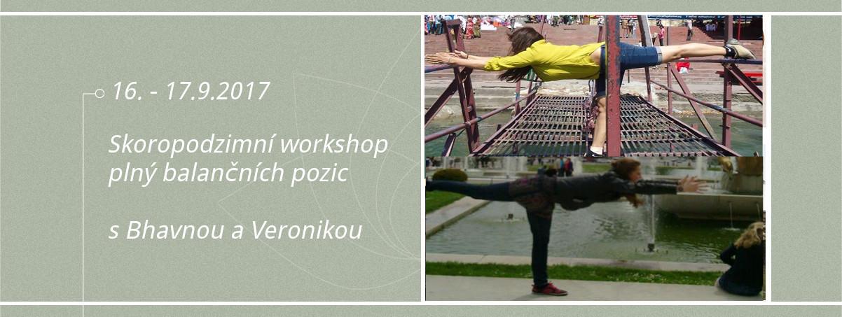 Podzimní workshop Iyengar jógy Bhavna Veronika