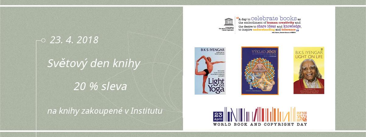 Světový den knihy v Iyengar Yoga Institutu