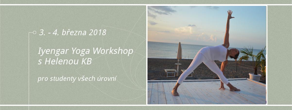 Iyengar Yoga Workshop s Helenou KB