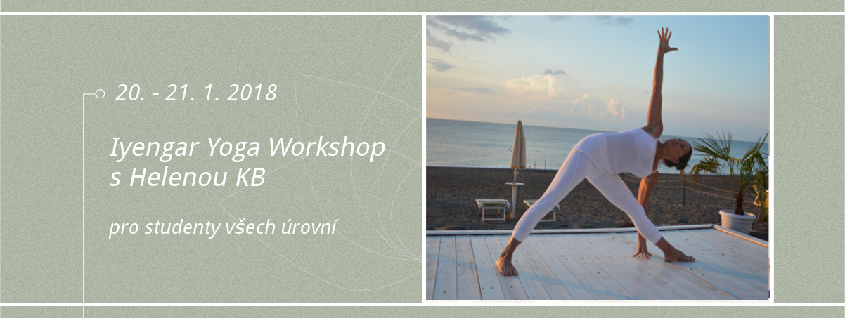 Iyengar Yoga Workshop s Helenou KB