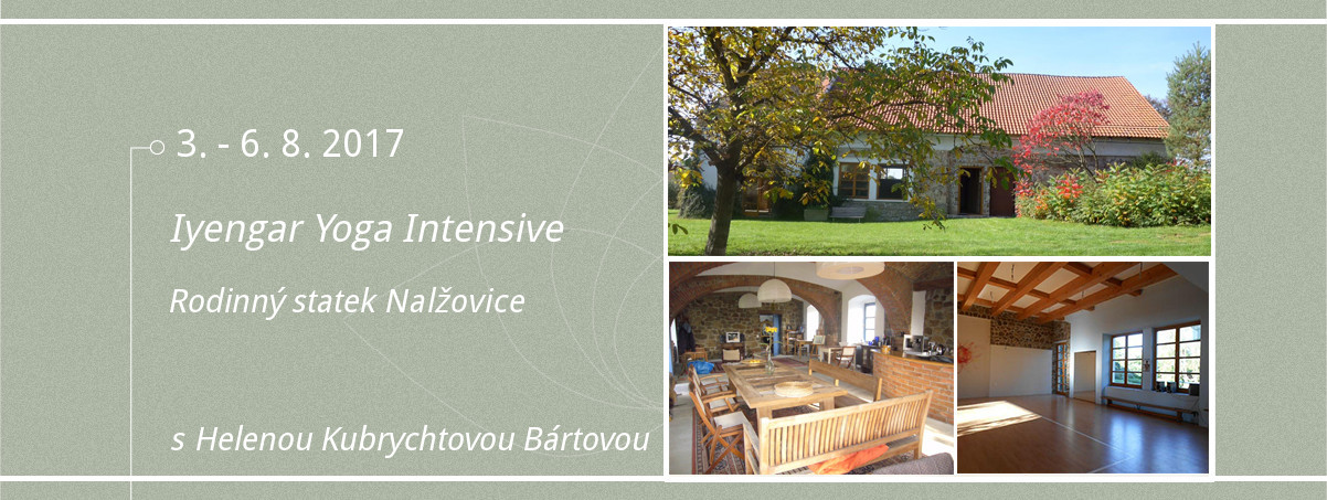 Iyengar Yoga Intensive Nalžovice