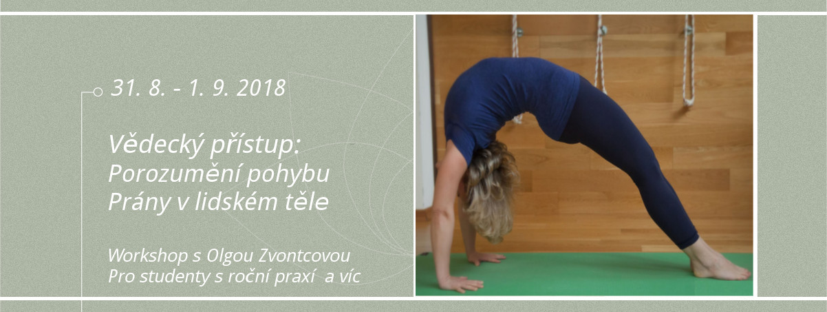 Olga Zvontcova Iyengar Yoga Teacher Prague
