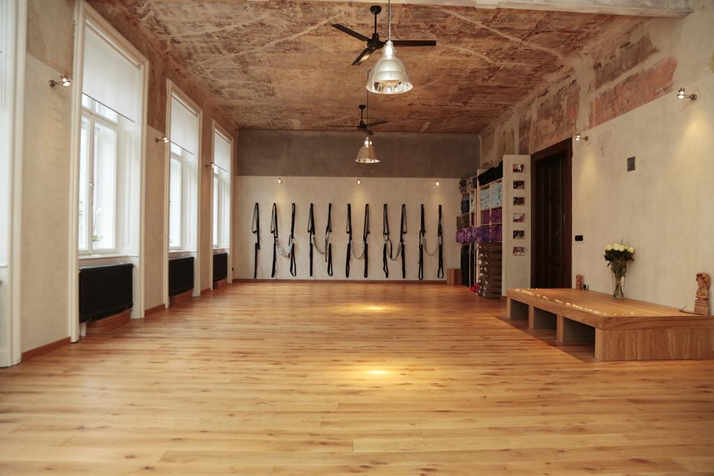 Iyengar Yoga Institut Praha - velký sál